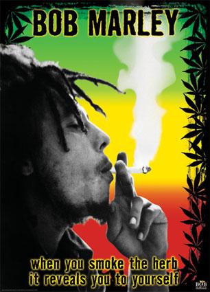 bob marley smoking poster eBay